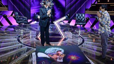 Kaun Banega Crorepati 12: Amitabh Bachchan Expresses Gratitude to a Fan Who Made a Rangoli to Commemorate His 51 Years in Bollywood!