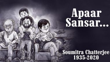 Amul Pays Tribute to Bengali Actor Soumitra Chatterjee With a Topical Ad on His Notable Characters