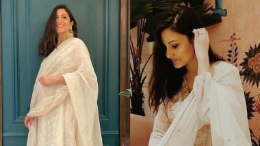 Diwali 2020: Preggers Anushka Sharma's Ethnic Anarkali by Anita Dongre Comes at a Whopping Price of Rs 27000!