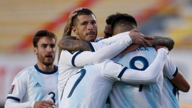 How To Watch Argentina vs Paraguay, Copa America 2021 Live Streaming Online in India? Get Free Live Telecast Of South American Championship Match Score Updates on TV