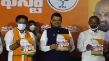 BJP Manifesto For GHMC Elections 2020: Free Travel For Women in Buses, Metros, LRS Abolishment And More; Here Are Highlights of Party's Manifesto For Hyderabad Municipal Polls