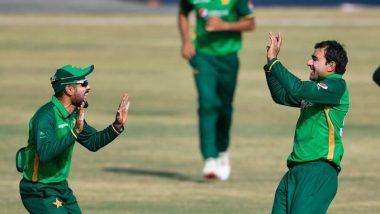 PAK vs ZIM 2nd ODI 2020 Match Result: Babar Azam, Iftikhar Ahmed Star as Pakistan Defeat Zimbabwe by 6 Wickets at Rawalpindi Cricket Stadium