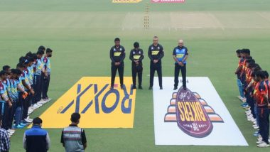 Bengal T20 Challenge 2020: Players, Officials Pay Homage to Diego Maradona at Eden Gardens