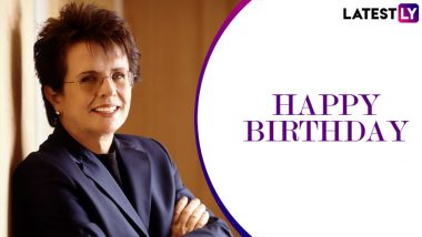 Billie Jean King Birthday Special: Lesser-Known Facts About the American Tennis Legend and a Pioneer of Women's Sports