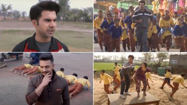 Chhalaang Song Le Chhalaang: Coach Rajkummar Rao & Kids Gear Up to Defeat Zeeshan Ayyub's Team in This Upbeat Track (Watch Video)