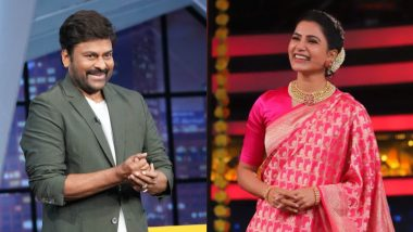 Sam Jam: Chiranjeevi to Grace Samantha Akkineni's Celebrity Talk Show, Looks Cool in Casuals (View Pics)