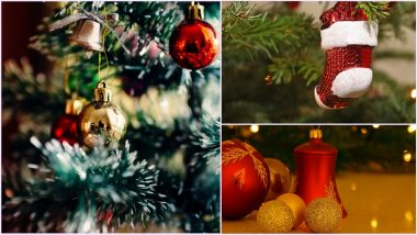 Christmas 2020 Decoration Ideas With DIY Videos: From Paper Stars, Shiny Christmas Bells to Colourful Stockings, Here Are Simple Ways to Make Your Xmas Tree Ornaments For This Festive Season