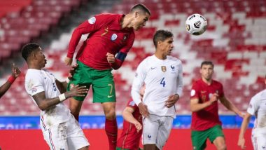 Cristiano Ronaldo Reacts to Portugal's Exit From UEFA Nations League 2020–21 After Defeat to France, Urges Teammates to 'Hold Heads High and Be Proud of Everything Achieved'