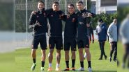 Cristiano Ronaldo Shares Picture With Paulo Dybala and Others From Juventus Training Ahead of UEFA Champions League Match Against Ferencvaros (See Pic)