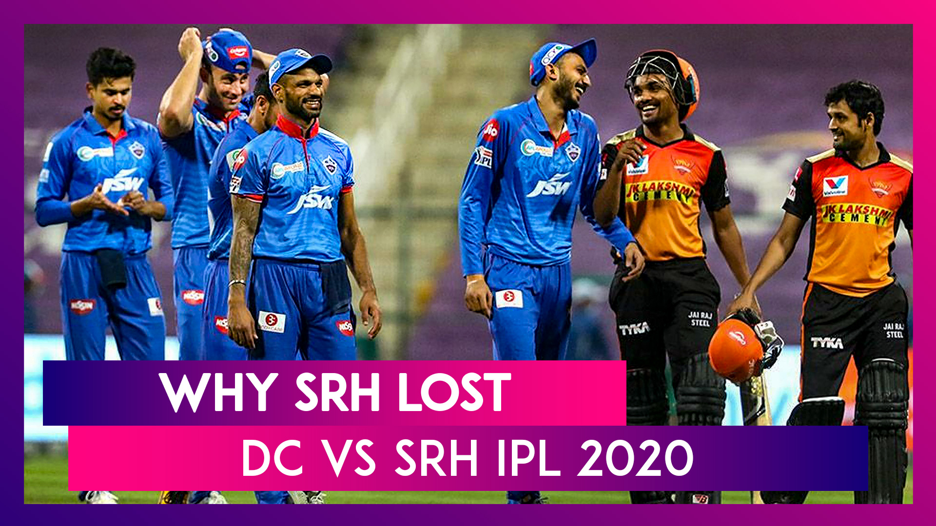 Delhi vs Hyderabad IPL 2020: 3 Reasons Why Hyderabad Lost To Delhi