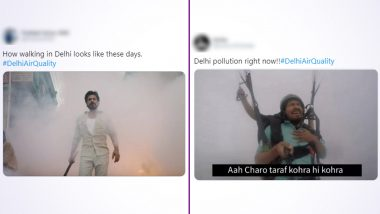 Delhi Air Quality Funny Memes Take Over Social Media: Delhiites Battle Smog and Pollution With Hilarious Jokes That Will Make You 'Choke'With Laughter