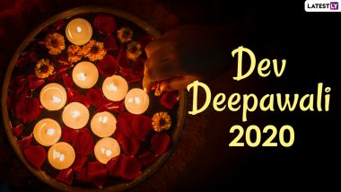 Dev Deepavali 2020 Wishes in Hindi And Wallpapers: WhatsApp Stickers, Facebook Greetings, GIFs, Happy Dev Diwali HD Images, Messages And SMS to Send on the Occasion