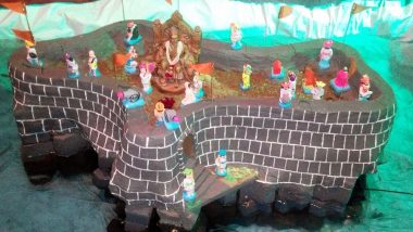 Diwali Celebrations With 'Killa' Making in Maharashtra: Here's Why Children Build Replicas of Chhatrapati Shivaji Maharaj's Forts During This Festival (Watch Video of Building Killa at Home)