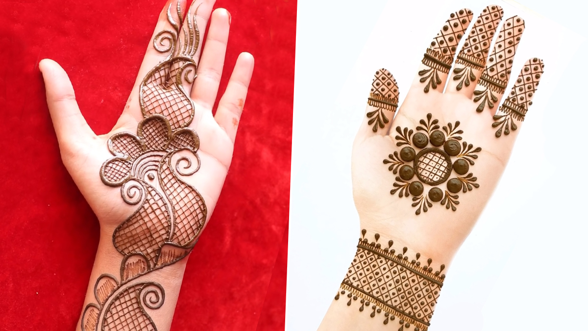 easy mehndi designs for diwali