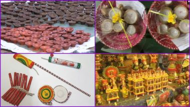 Eco-Friendly Diwali 2020 Local Products: From Cowdung and Bamboo Diyas to Seed Crackers, Here's How You Can Support 'Vocal For Local' Initiativeand Celebrate Deepavali