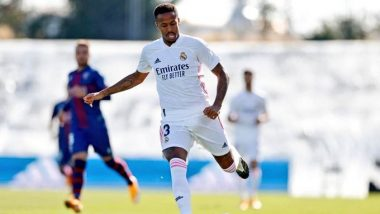Eder Militao Tests Positive for COVID-19, Real Madrid Defender to Miss Champions League Match Against Inter Milan