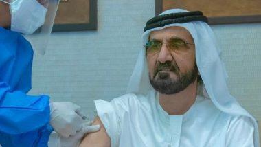 UAE PM Sheikh Mohammed Bin Rashid Al Maktoum Takes a Shot of COVID-19 Vaccine Developed by Chinese Company Sinopharm