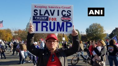 Donald Trump Supporters Rally in Washington to Protest Against Presidential Election Results a Week After Joe Biden Was Declared Winner