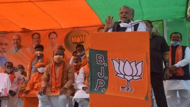 Sushil Kumar Modi Nominated For Rajya Sabha Bye-Election in Bihar by BJP