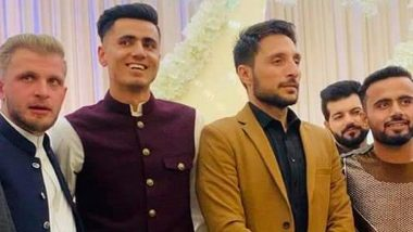 Mujeeb Ur Rahman's Wedding Video Goes Viral, Teammates of the Afghanistan Spinner Seen Dancing on the Occasion