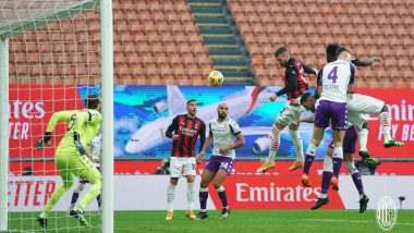 Serie A 2020–21 Match Result: AC Milan Beats Fiorentina 2–0 to Remain on Top of the Table