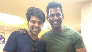 Enemy: Vishal and Arya Reunite for Anand Shankar's Action-Thriller (View Tweet)