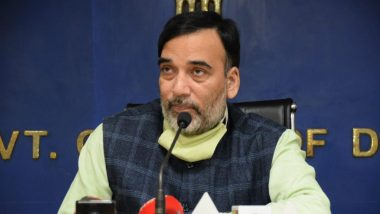 Gopal Rai Tests Positive For COVID-19, Delhi Environment Minister Urges People Who Came in His Contact to Get Tested