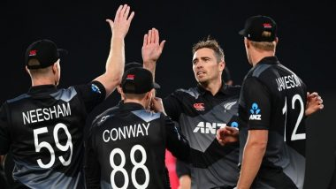 NZ vs WI 3rd T20I 2020: New Zealand Players Wear Black Armbands as Mark of Respect for Ross Dykes