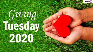Giving Tuesday 2020 Date And Significance: Know All About the Observance That Celebrates Generosity