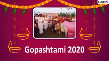 Gopashtami 2020 Date & Shubh Muhurat: Know The Significance, Rituals And Mythological Stories Related to the Cow-Worshipping Hindu Festival