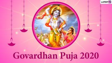 Gowardhan Puja 2020 Date, Shubh Muhurat & Significance: Know Annakut Puja Sayankala Muhurat, Dyuta Krida Date & Important Rituals for the Auspicious Occasion