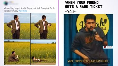 Gpay Go India Game Gives Rise to Funny Memes Online: Google Pay Users Share The Struggle of Finding Rare Tickets With Jokes