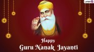Guru Nanak Jayanti 2020 Wishes: PM Narendra Modi, Rahul Gandhi, Amarinder Singh and Other Leaders Greet People on 551st Birth Anniversary of Guru Nanak Dev