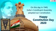 Happy Constitution Day 2020 Wishes And Samvidhan Divas HD Images: WhatsApp Messages, Status And Greetings to Share on National Law Day in India