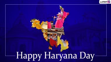 Happy Haryana Day 2020 Greetings, HD Images, Wishes and Messages to Send to Family & Friends