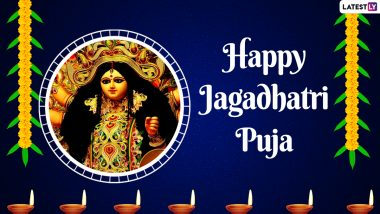 Jagadhatri Puja 2020: When Is Jagaddhatri Pujo? Why Is the Festival Celebrated? Signifiance of Akshaya Navami and All Frequently Asked Questions Answered