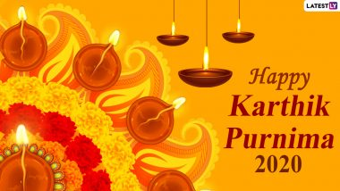 Kartika Purnima 2020 HD Images, Greetings, Quotes & Wishes: Send Tripuri Purnima WhatsApp Stickers, Facebook Pics, Wallpapers, GIFs & Digital Cards on Dev Deepawali