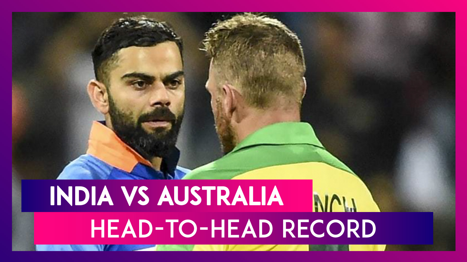 India vs Australia H2H Record: Ahead Of ODI Series, Let's Look At Last Five Match Results