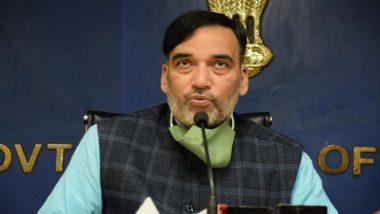 Delhi Minister Gopal Rai's Portfolios Transferred to Manish Sisodia as He Heads to Mumbai for Medical Treatment
