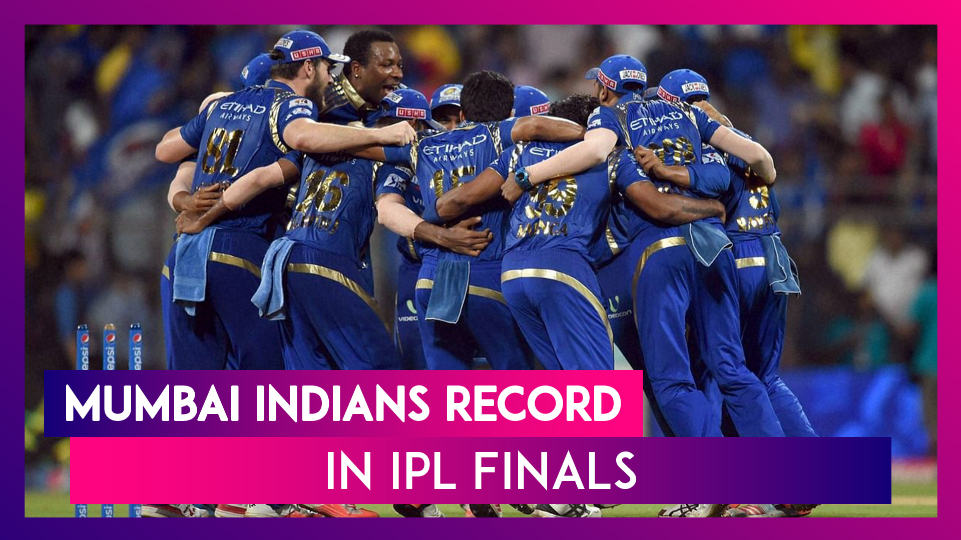Mumbai Indians Record In IPL Finals: As MI Lift Fifth Title, A Look At Their Previous Summit Clashes