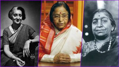 As US Celebrates First Woman VP Kamala Devi Harris in 2021, Here is a List of First Female Leaders Who Held Top Positions From President to Prime Minister in India