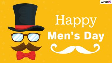 Happy Men's Day 2020 Greetings & HD Images: WhatsApp Stickers, GIFs, Facebook Messages, Wishes, Quotes, Status and SMS to Celebrate International Men's Day