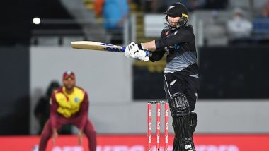 NZ vs WI 1st T20I 2020 Match Result: Lockie Ferguson, James Neesham Star as New Zealand Beat West Indies By 5 Wickets Via DLS Method