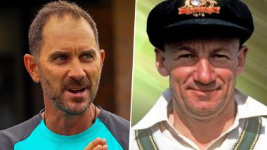 Justin Langer Wrote Letter to Sir Don Bradman Seeking Advice for Success & Still Treasures the Reply He Got!