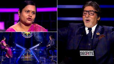 Kaun Banega Crorepati 12: Anupa Das Becomes the Third Woman Crorepati on Amitabh Bachchan's Quiz Show After Nazia Nasim and Mohita Sharma (Watch Video)