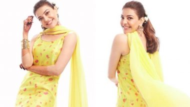 Kajal Aggarwal Shares Unseen Pics From Her Haldi Ceremony And The Subtle Tone Of Her Chanderi Outfit Impresses Us!