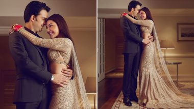 Kajal Aggarwal And Gautam Kitchlu Make A Perfect Couple In This Stunning Picture From Their Wedding Reception!
