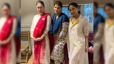 Diwali 2020 Celebration: Kareena Kapoor Khan Enjoys The Festive Season With Masaba Gupta, Poonam Damania And Others! (View Pics)