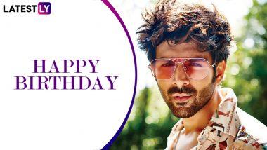 Kartik Aaryan Birthday Special: From Pyaar Ka Punchnama to Love Aaj Kal, 7 Popular Movie Dialogues of This Good Looking Star!