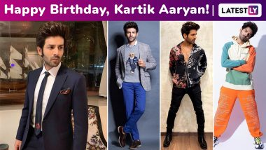 Kartik Aaryan Birthday Special: Perennially Channeling That Hot Dude With a Cool Attitude Vibe!